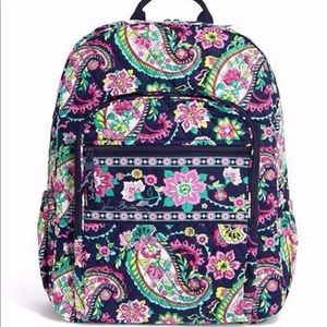 Vera Bradley Petal Paisley Campus Backpack